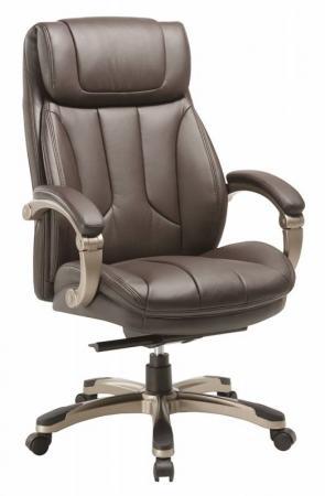 Кресло Бюрократ T-9921/BROWN коричневый цена