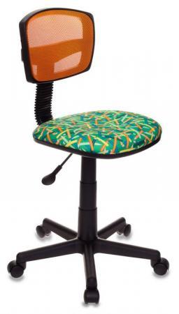 Кресло детское Бюрократ CH-299/OR/PENCIL-GN зеленый карандаши кресло бюрократ ch 299