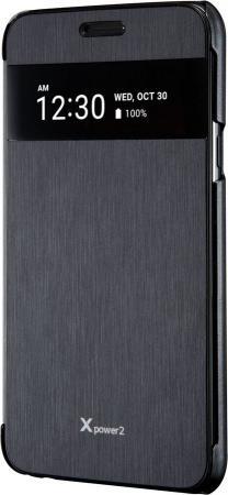 Чехол флип-кейс LG для LG X Power 2 M320 VOIA черный аксессуар чехол lg x power 2 m320 zibelino classico black zcl lg m320 blk