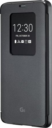 Чехол флип-кейс LG для LG G6 H870DS Н870 VOIA черный чехол флип кейс lg k350 voia для lg k8 черный