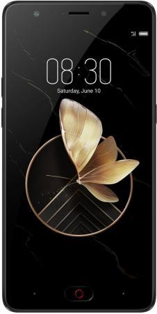 Смартфон ZTE Nubia M2 Play черный 5.5 32 Гб LTE Wi-Fi GPS 3G смартфон zte blade a510 серый 5 8 гб lte wi fi gps 3g