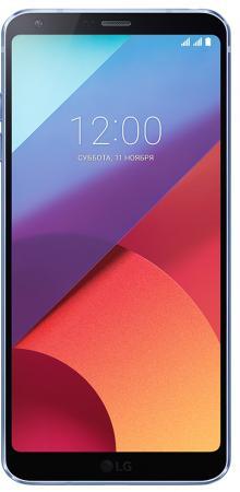 """Смартфон LG G6 синий 5.7"""" 32 Гб NFC LTE Wi-Fi GPS 3G LGH870S.ACISBL"""