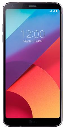 "Смартфон LG G6 черный 5.7"" 32 Гб NFC LTE Wi-Fi GPS 3G LGH870S.ACISBK"