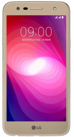 Смартфон LG X power 2 золотистый 5.5 16 Гб LTE Wi-Fi GPS 3G LGM320.ACISGD смартфон micromax q465 золотистый 5 16 гб lte wi fi gps 3g