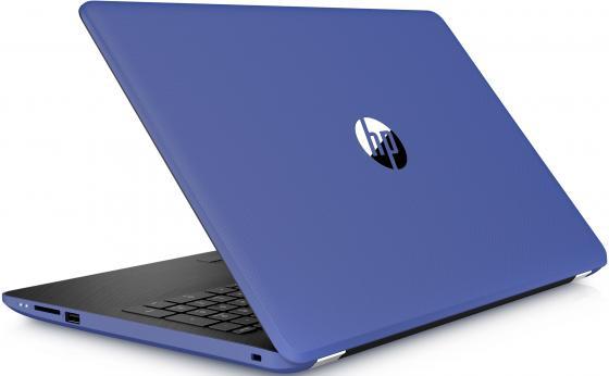 """Ноутбук HP 15-bw515ur 15.6"""" 1366x768 AMD E-E2-9000e 500 Gb 4Gb AMD Radeon R2 синий Windows 10 Home 2FP09EA"""