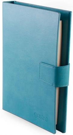 Портативное зарядное устройство Gmini Ежедневник GM-PB-90NP 9000mAh синий портативное зарядное устройство prestige – pb 7200