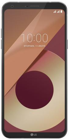 Смартфон LG Q6a черный 5.5 16 Гб LTE Wi-Fi GPS 3G LGM700.ACISBK смартфон lg x venture m710ds 32gb черный lgm710ds acisbk