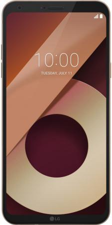 Смартфон LG Q6a золотистый 5.5 16 Гб LTE Wi-Fi GPS LGM700.ACISKG смартфон lg q6a 16 гб платина lgm700 acispl