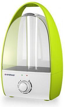Увлажнитель воздуха ENDEVER Oasis 185 белый зелёный пылесосы endever пылесос