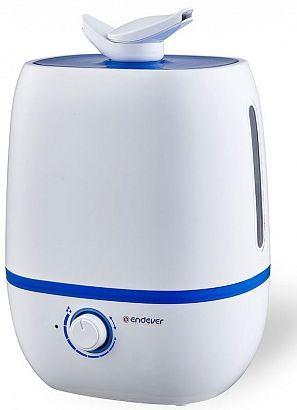 Увлажнитель воздуха ENDEVER Oasis 160 белый синий очиститель и увлажнитель воздуха endever oasis 160