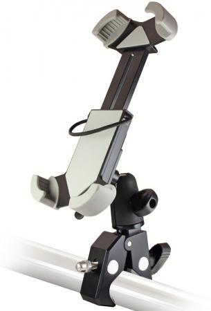 Держатель Ginzzu GH-883B для велосипеда/мотоцикла ручной пылесос handstick ginzzu vs407 90вт черный