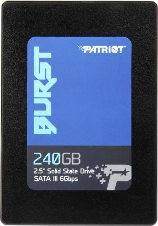 Твердотельный накопитель SSD 2.5 240 Gb Patriot PBU240GS25SSDR Read 555Mb/s Write 500Mb/s