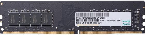 Оперативная память 16Gb PC4-19200 2400MHz DDR4 DIMM Apacer AU16GGB24CEYBGH/EL.16G2T.GFH
