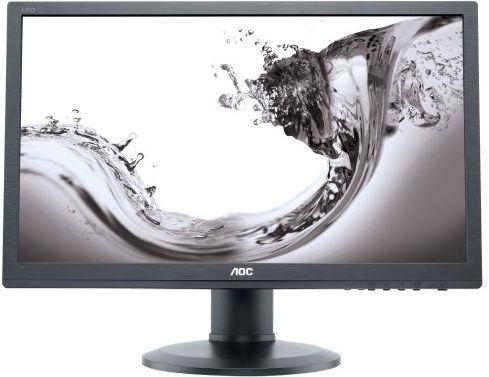 МОНИТОР 24 AOC E2460PXDA Black с поворотом экрана (61 cm, LED, 1920x1200, 5 ms, 170°/160°, 250 cd/m, 20M:1, +DVI, +MM) монитор aoc 21 5 i2276vw i2276vw