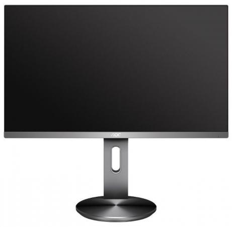 Монитор 27 AOC Q2790PQU серебристый черный IPS 2560x1440 350 cd/m^2 4 ms HDMI DisplayPort VGA Аудио USB монитор 25 aoc q2577pwq серебристый ips 2560x1440 350 cd m^2 5 ms vga dvi hdmi displayport