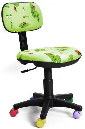 Кресло Recardo Junior D06 зеленый  рисунком божья коровка gtsN /