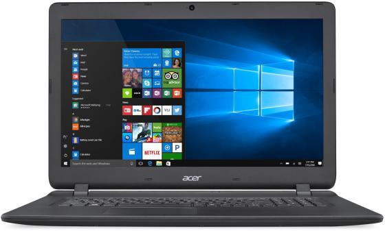 Ноутбук Acer Aspire ES1-732-P01M 17.3 1600x900 Intel Pentium-N4200 1 Tb 6Gb Wi-Fi Intel HD Graphics 505 черный Windows 10 Home NX.GH4ER.021 ноутбук acer aspire a315 31 c3cw 15 6 intel celeron n3350 1 1ггц 4гб 500гб intel hd graphics 500 windows 10 черный [nx gnter 005]