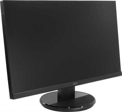 Монитор жидкокристаллический Acer K272HLEbid Монитор LCD 27'' [16:9] 1920х1080 VA, nonGLARE, 300cd/m2, H178°/V178°, 3000:1, 100M:1, 16,7M Color, 4ms, VGA, DVI, HDMI, Tilt, 3Y, Black