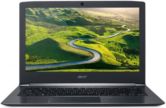 Ноутбук Acer Aspire S5-371-7270 13.3 1920x1080 Intel Core i7-6500U 128 Gb 8Gb Intel HD Graphics 520 черный Windows 10 Home NX.GCHER.012 vg 86m06 006 gpu for acer aspire 6530g notebook pc graphics card ati hd3650 video card