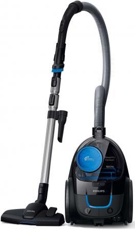 Пылесос Philips FC9350/01 сухая уборка чёрный синий пылесос philips fc8295 01 сухая уборка чёрный фиолетовый