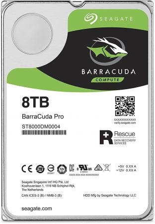 Жесткий диск 3.5 8 Tb 7200rpm 256Mb cache Seagate Barracuda Pro SATAIII ST8000DM0004 400 gb 7200rpm 8mb cache seagate 7200 8 st3400832as ncq