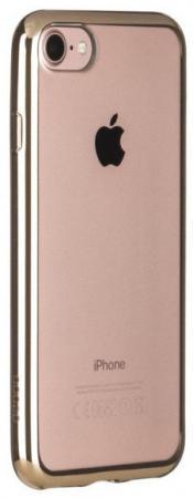 Накладка Deppa Gel Plus Case для iPhone 7 iPhone 8 золотой 85256 цена