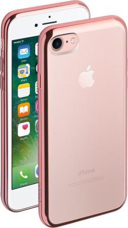 Накладка Deppa Gel Plus Case для iPhone 7 iPhone 8 розовое золото 85257 чехол deppa gel plus case для apple iphone 7 iphone 8 розовое золото 85257