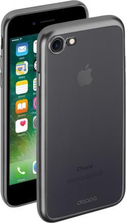Накладка Deppa Gel Plus Case для iPhone 7 iPhone 8 графит матовый 85283 накладка deppa chic для iphone 7 plus iphone 8 plus золотой 85300