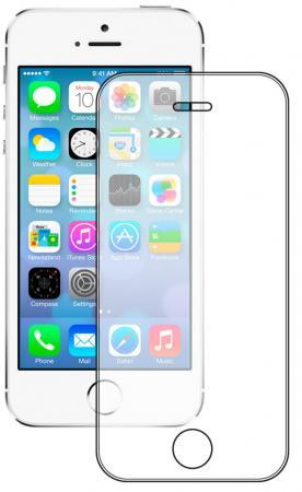 Защитное стекло Deppa Ultra для Apple iPhone 5/5S/SE, 0.2 мм, прозрачное, 62365 deppa защитное стекло для apple iphone 6 plus прозрачное и рамка для легкой установки 0 2 мм