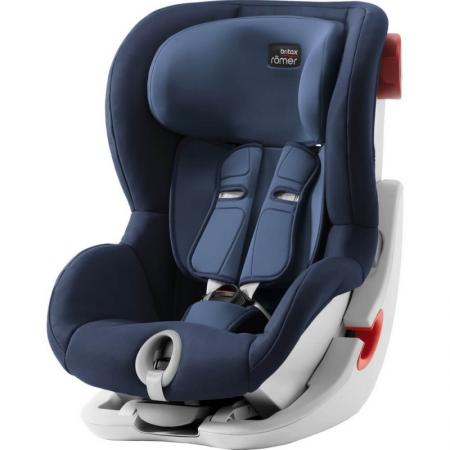 Автокресло Britax Romer King II (moonlight blue trendline) автокресло britax rоmer dualfix i size 0 18 кг moonlight blue trendline