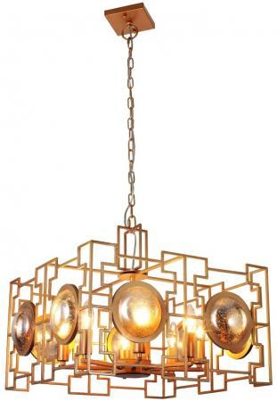 Подвесная люстра Crystal Lux Cuento SP8 Gold подвесная люстра crystal lux romeo sp10 gold d600