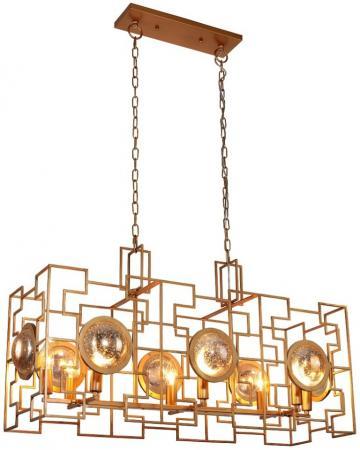 Подвесная люстра Crystal Lux Cuento SP8 L900 Gold люстра crystal lux fontain sp8