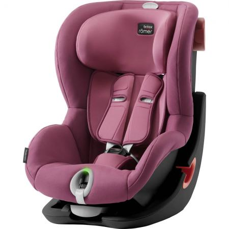 Автокресло Britax Romer King II LS Black Series (wine rose) автокресло группа 1 9 18кг britax roemer king ii ls black series moonlight blue