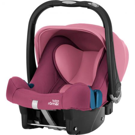 Автокресло Britax Romer Baby-Safe Plus SHR II (wine rose) коляска britax romer b agile wood brown 2000023124