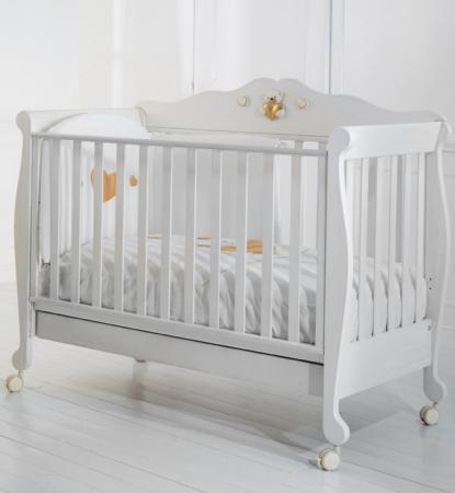 Кровать-диван Baby Expert Gustavo (белый)