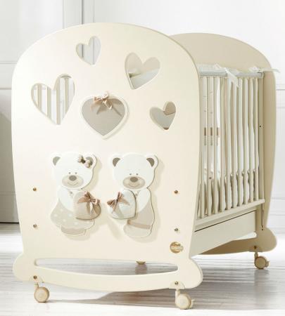 Кроватка-качалка Baby Expert Bon Bon (кремовый) evolis avansia duplex expert