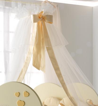 Балдахин Baby Expert Cuore di Mamma (крем/золото) roman baby панно на стену roman baby cuore di mamma арт 6008