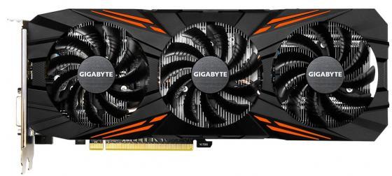 Видеокарта 8192Mb Gigabyte GeForce GTX1070 PCI-E 256bit GDDR5 DVI HDMI DP GV-N1070G1 GAMING-8GD V2.0 Retail видеокарта gigabyte geforce gtx 1070 8192mb gv n1070wf2oc 8gd dvi hdmi 3xdp ret