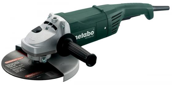 Углошлифовальная машина Metabo WX2200-230 230 мм 2200 Вт 600397000