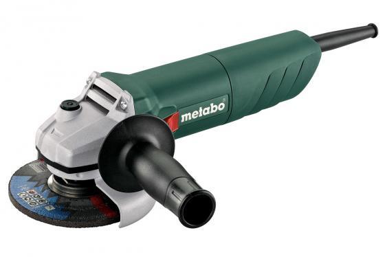 Углошлифовальная машина Metabo W 750-125 125 мм 750 Вт 601231000 шлифовальная машина metabo wev 10 125 quick 600388000