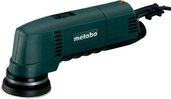 Эксцентриковая шлифмашина Metabo SXE 400 80 мм 220 Вт шлифмашина эксцентриковая metabo sxe 450 turbo tec 600129000