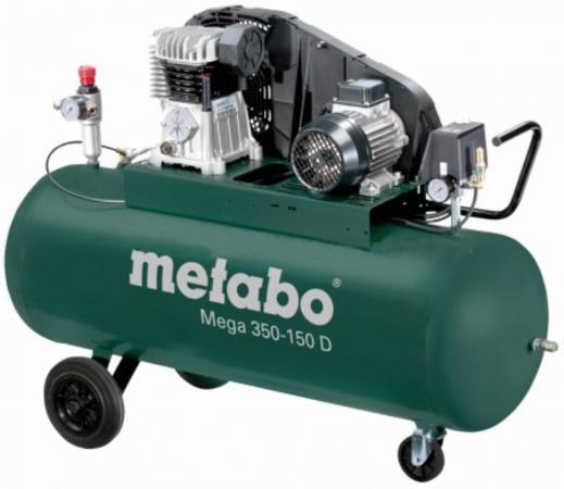 MEGA 350-150 D Компр.2.2кВт,320/м,400В,10б,150л компрессор metabo mega 350 100 w 601538000