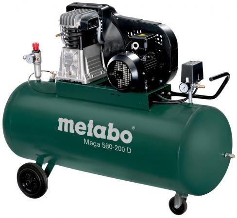 MEGA 580-200 D Компр.3кВт,580/м,400В,11б,200л компрессор ременной metabo mega 580 200 d