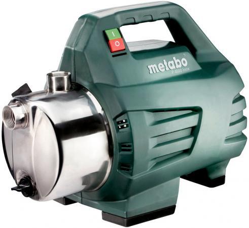 Насос садовые Metabo P4500Inox 4.5 м3/час насос metabo p6000inox600966000