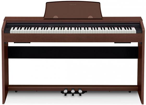 Цифровое фортепиано CASIO Privia PX-770BN 88 клавиш коричневый casio cdp 130bk цифровое фортепиано black