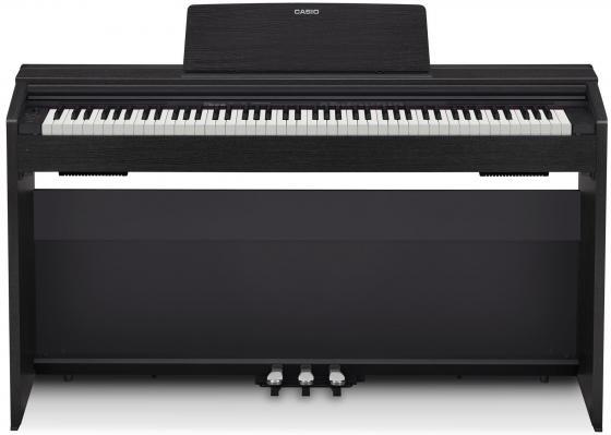 Цифровое фортепиано CASIO Privia PX-870BK 88 клавиш чёрный цена
