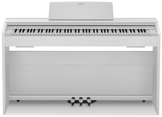 Цифровое фортепиано CASIO Privia PX-870WE 88 клавиш белый casio cdp 130bk цифровое фортепиано black