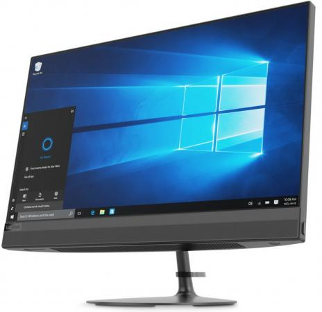 Моноблок 21.5 Lenovo IdeaCentre AIO 520-22IKU 1920 x 1080 Intel Core i5-7200U 4Gb 1 Tb 16 Gb Intel HD Graphics 620 Windows 10 Home черный F0D5000XRK