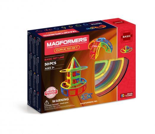 Магнитный конструктор Magformers Curve 50 50 элементов 701012