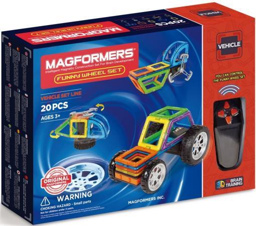 Магнитный конструктор Magformers Funny Wheel Set 20 элементов 707012 magformers magformers магнитный конструктор funny wheel set 20